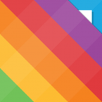 Rainbow - 画像ダウンロード&管理アプリ アイコン