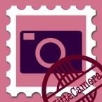 切手カメラ アイコン