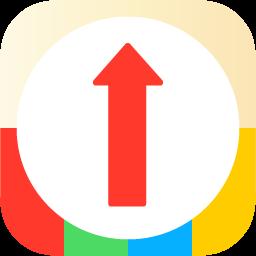 周辺クイックコンパス -素早く検索!コンビニやカフェ等お好きな場所に1秒でも早く辿り着くためのコンパス・地図アプリ アイコン