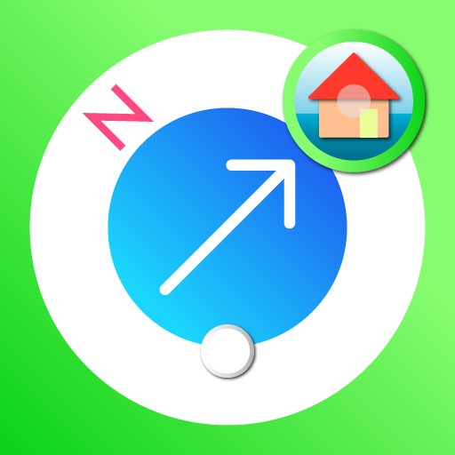PICOM - ピコム Picture Compass(ピクチャーコンパス)画像で自分だけのマップを作ろう!コンパスでオフラインでも使用できます!強力な周辺検索で目的地にいち早く到着! アイコン