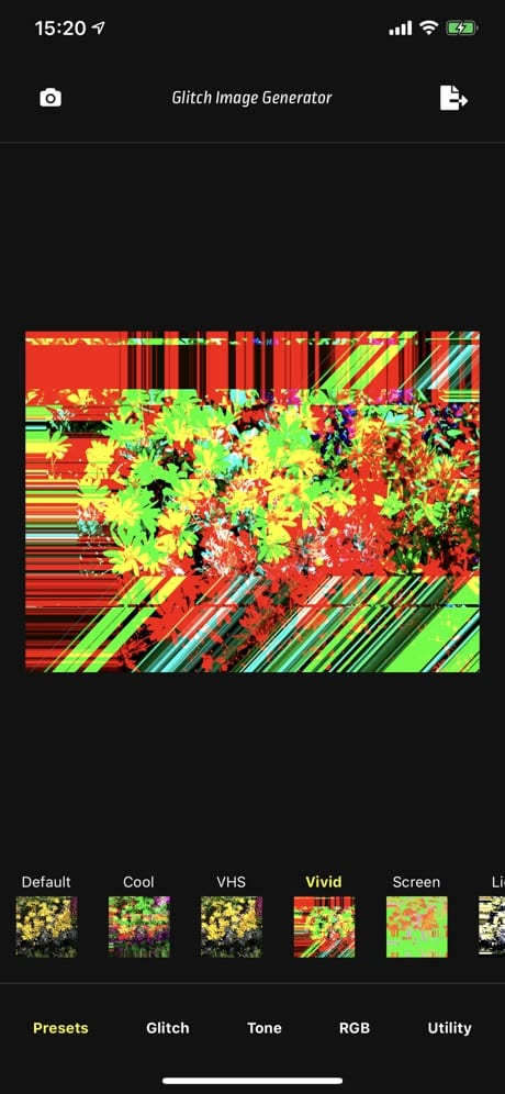 Glitch Image Generator 03