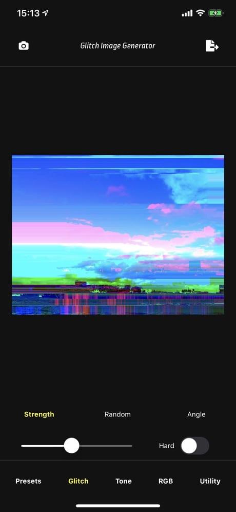 Glitch Image Generator 01