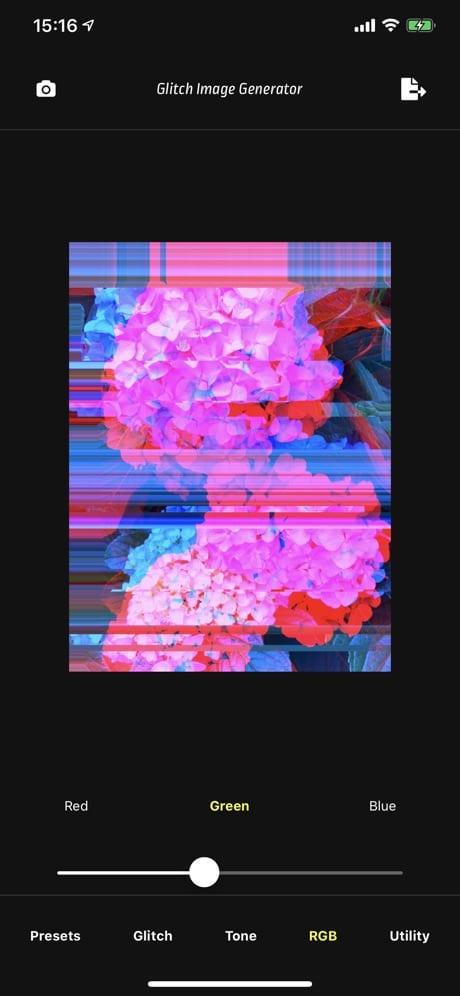 Glitch Image Generator 02